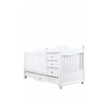 Softy Convertible Baby Bed (75x114 / 75x160cm)