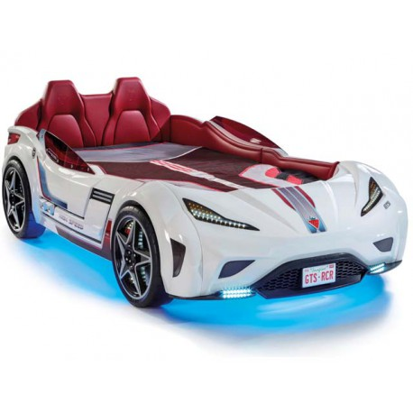 GTS carbed white (100x190cm) -Car beds