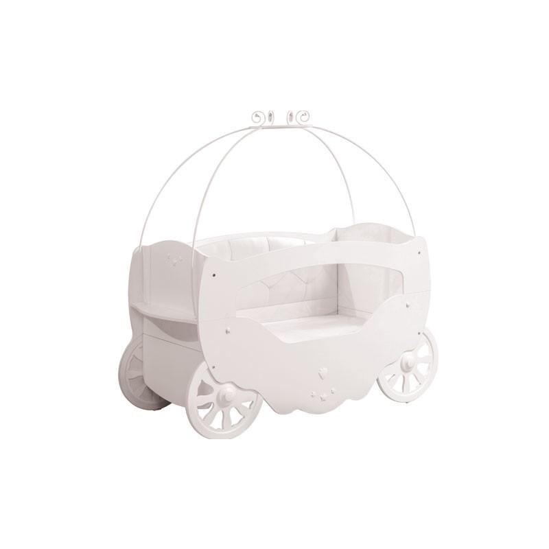 Cuna carroza blanca Fairy - Cilek