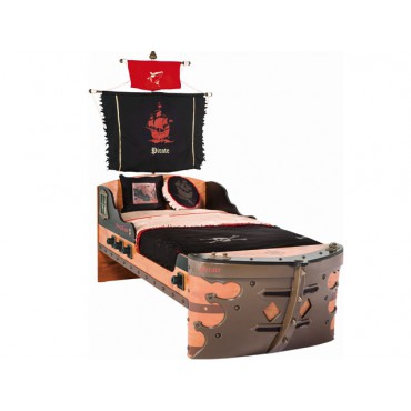 Pirate Ship Bed 90cmx190cm