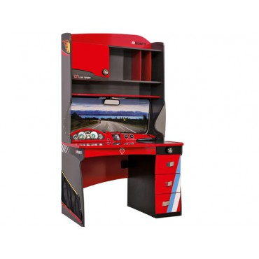 Champion Racer Concept Desk with Unit