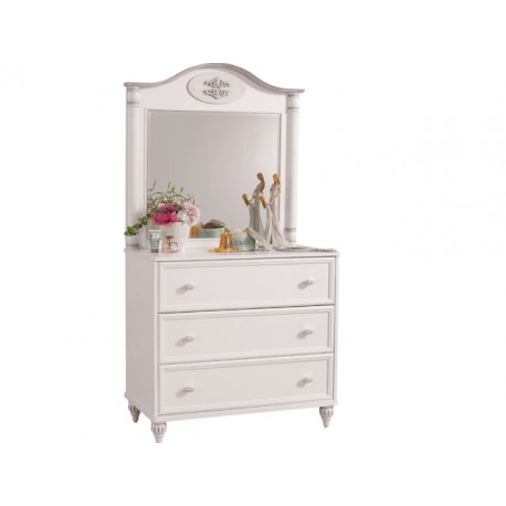 Romantic St Dresser and Mirror -Dressers