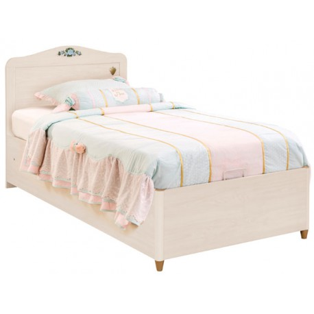 Flora bed with base 90x190 cm cilek for Cama canape 90