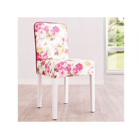 Flora Chair (pink) -Chairs