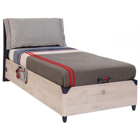Trio Bed with Base (100x200cm) -Beds
