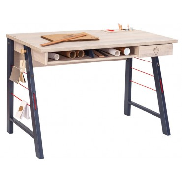 Trio Medium Study Desk