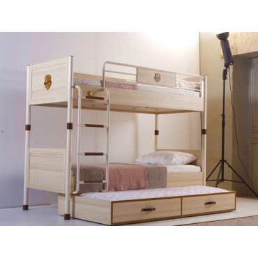 Royal Bunk Bed & Pull-out Bed 90x200/90x190cm