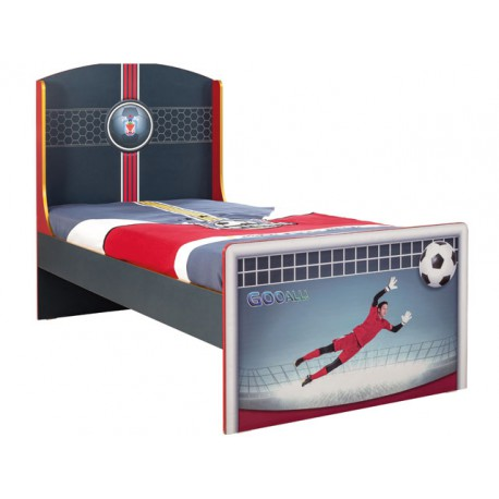 Football St Bed (S-90x190cm) -Beds