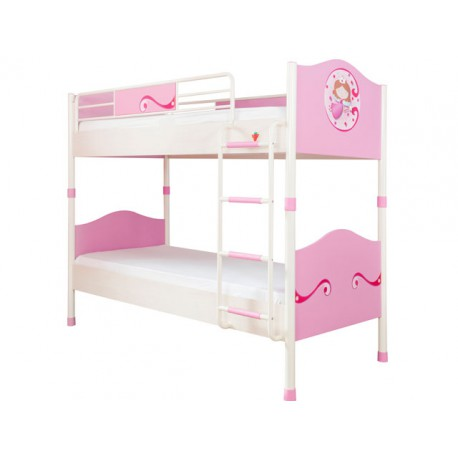 Princess Bunk & Pull-out Bed 90x200/90x190cm -Bunk beds