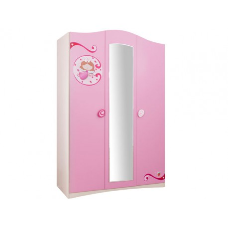 Princess Large Wardrobe -Wardrobes