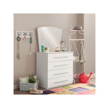 Active dresser with mirror