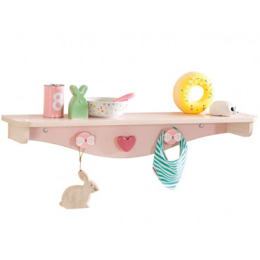 Baby Girl hanger shelf