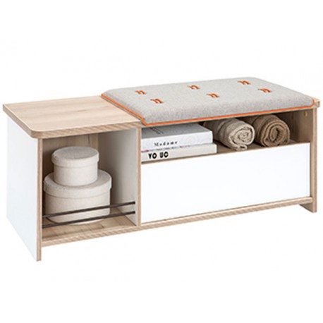 Dynamic Ottoman with drawer -Pufs