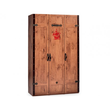 Pirate Large Wardrobe -Wardrobes