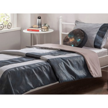 Dark Metal bed cover