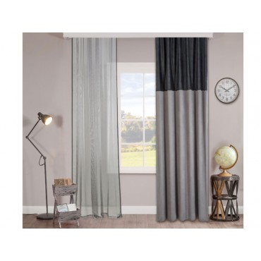 Dark Metal curtain
