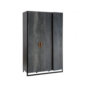 Dark Metal wardrobe