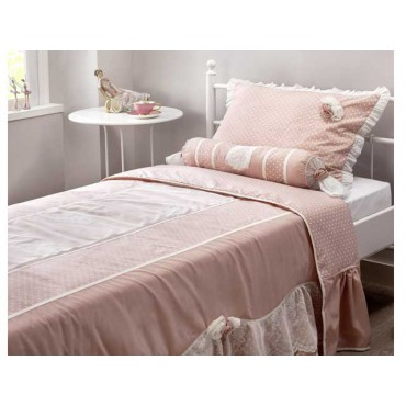 Romantic XL bed cover